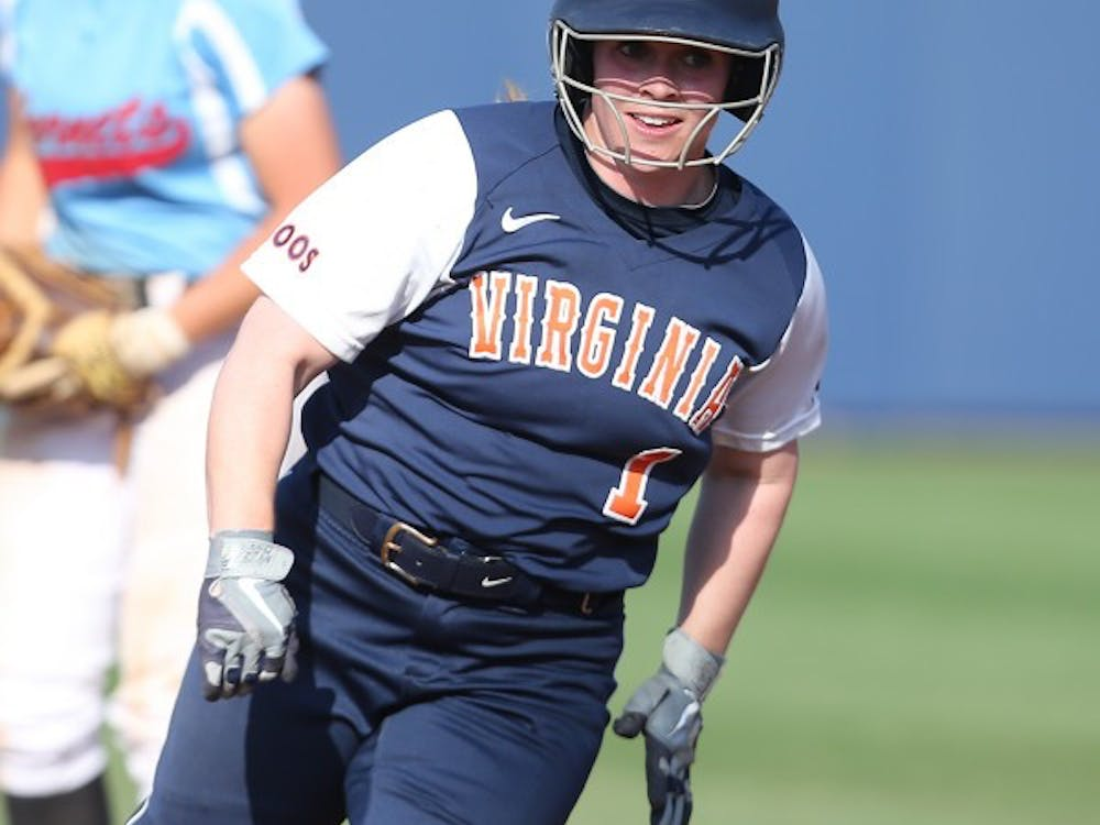 Senior second baseman Marcy Bowdren hit a three-run home run in the first game of Thursday's doubleheader against George Mason.