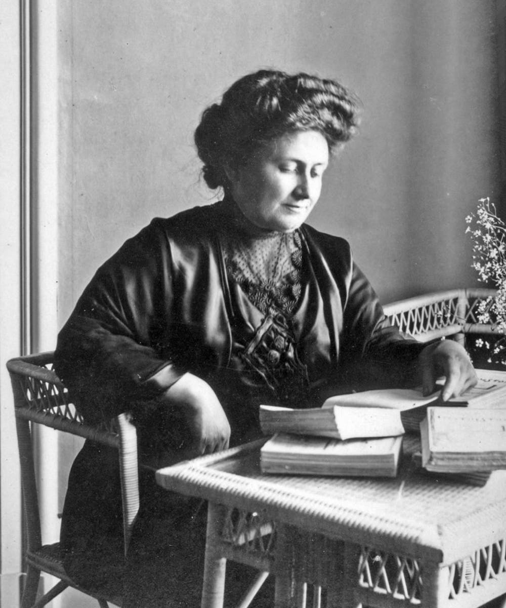 <p>Dr. Maria Montessori developed the Montessori method of education, which may help typically disadvantaged students.</p>