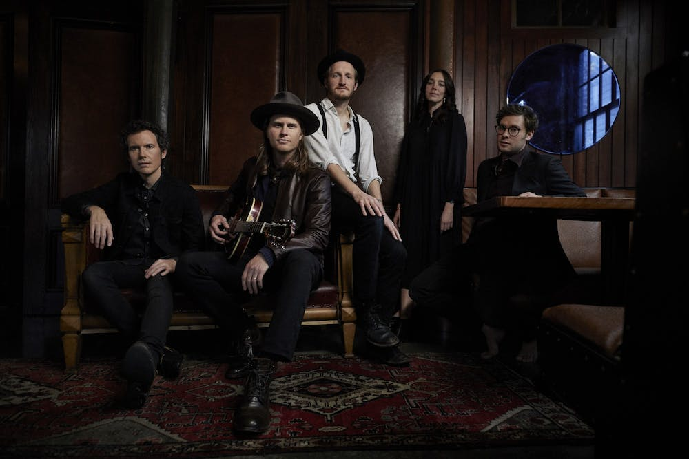 <p>'The Lumineers' are an American folk-rock band with three full-length albums.</p>