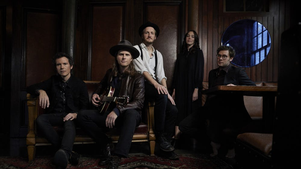 'The Lumineers' are an American folk-rock band with three full-length albums.