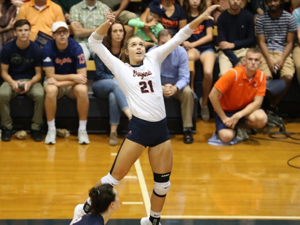 Junior outside hitter Sarah Billiard is once again set to be Virginia's top offensive threat in 2019.