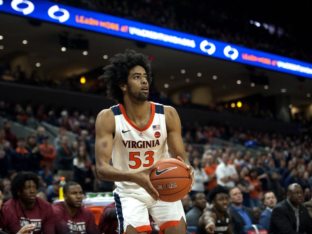 Junior transfer guard Tomas Woldetensae figures to be a big part of Virginia's needed improvement in perimeter shooting.