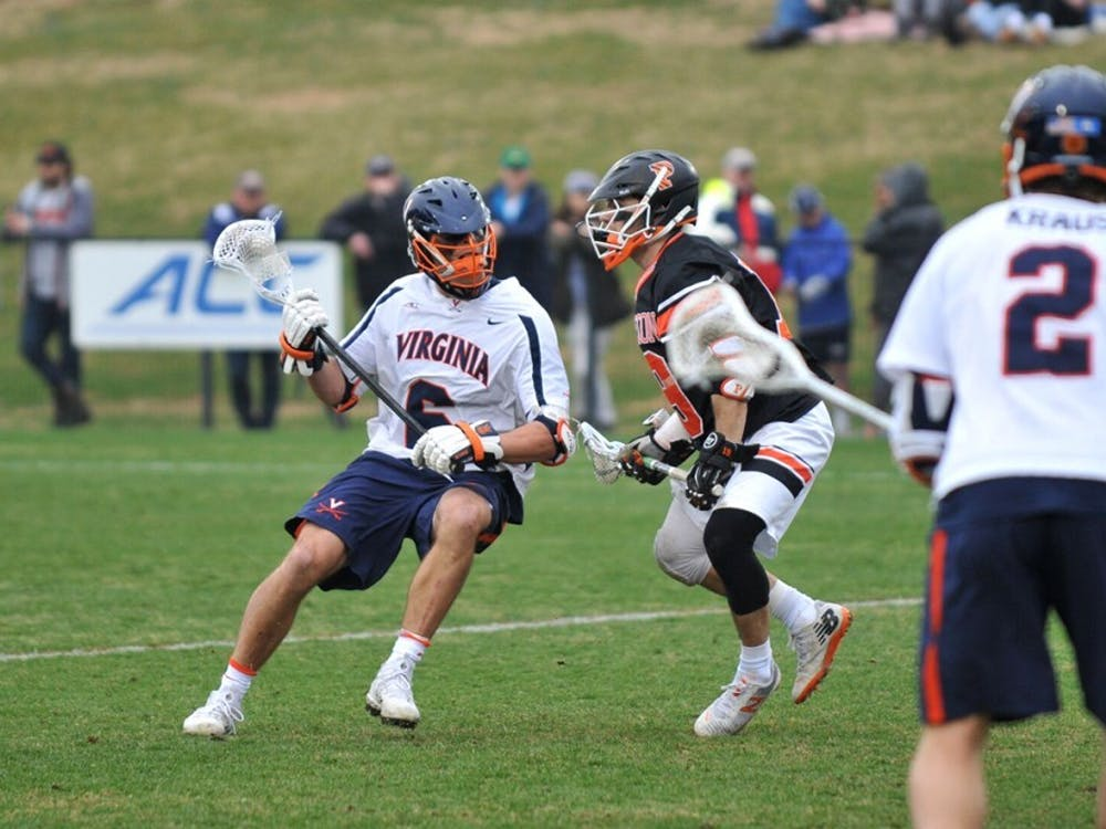 Sophomore midfielder Dox Aitken scored a goal right before halftime to put the Cavaliers ahead by one, 5-4.
