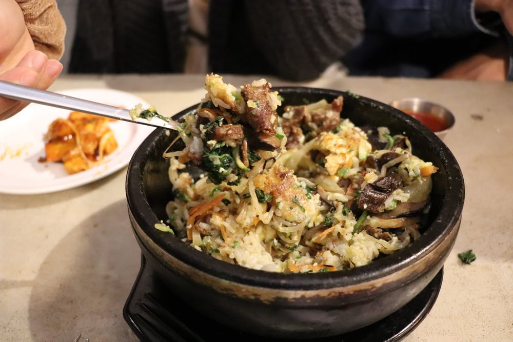 <p>Bibimbap varies from restaurant to restaurant and from home-to-home.</p>