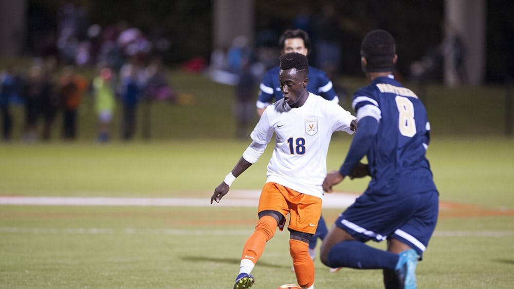 Freshman forward Edward Opoku scored a goal and added an assist against Pittsburgh.