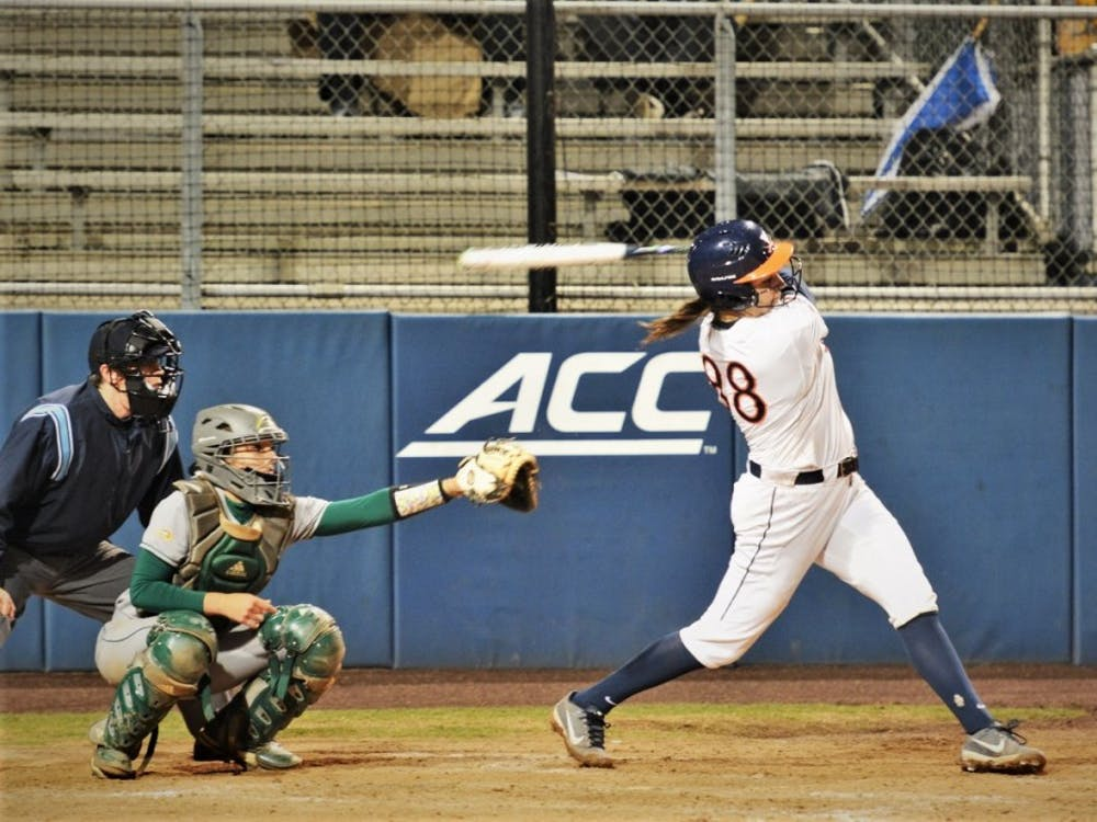 Junior Olivia Gott recorded four home runs in the weekend series against Pittsburgh.