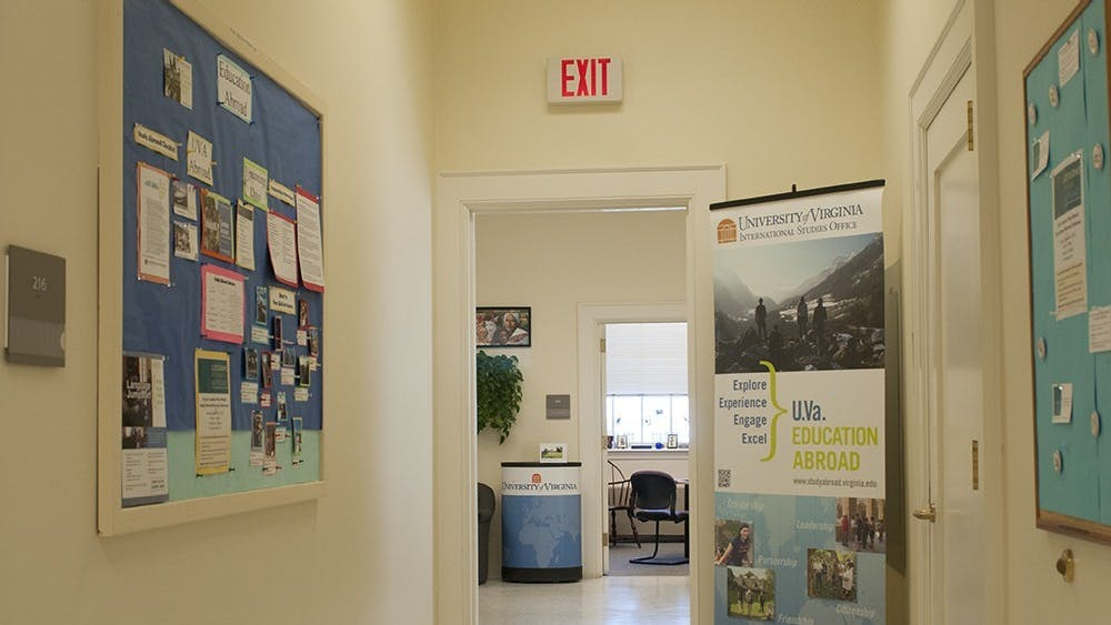 The study abroad office is located on the second floor of Minor Hall.