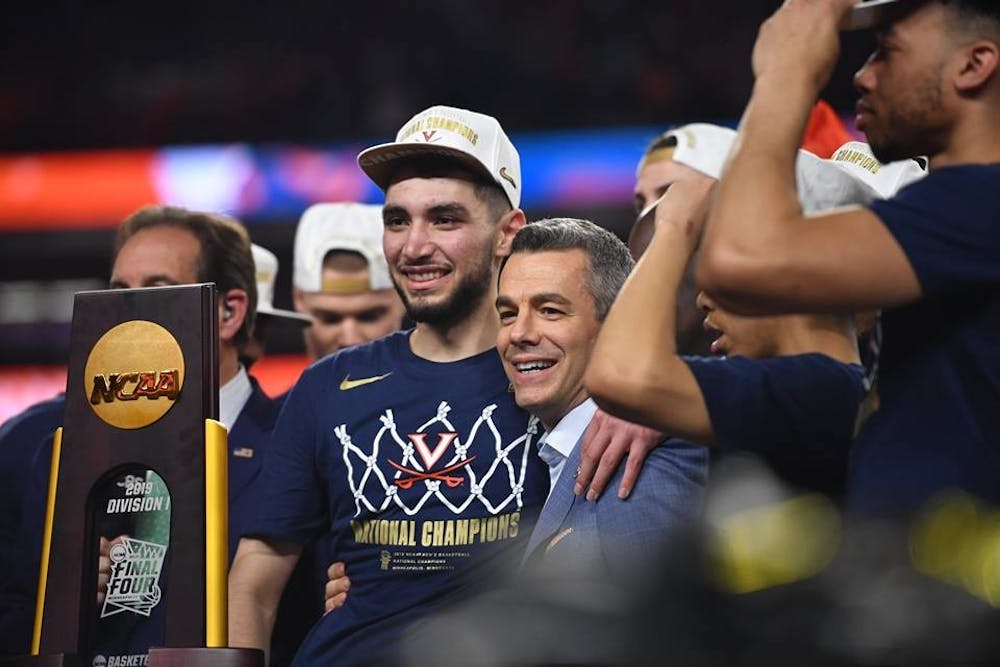 <p>Junior guard Ty Jerome announced Monday that he is declaring for the NBA Draft.</p>