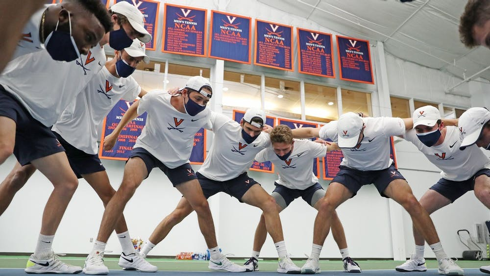 The Cavaliers picked up a big win against in-state rival Virginia Tech in their last regular-season home match.