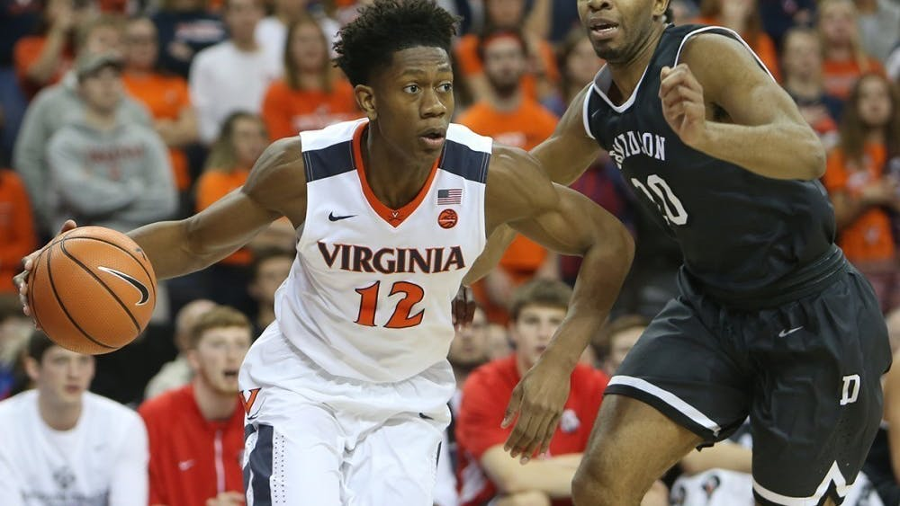 De'Andre Hunter was among the highest-rated recruits that Tony Bennett has brought to Virginia.