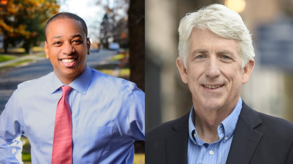 Fairfax (left) and Herring (right) won the elections for lieutenant governor and attorney general, respectively.