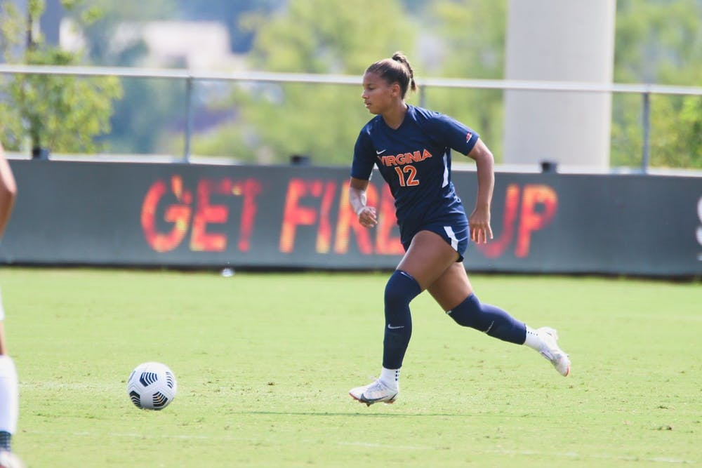<p>Senior defender Claire Constant and the Cavalier defense were able to withstand a strong North Carolina attack and shut out the Tar Heels.</p>