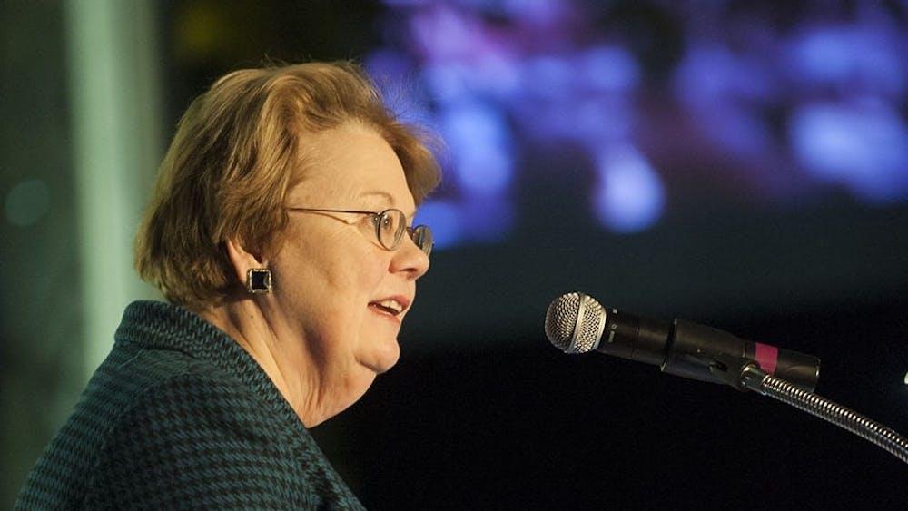 University President Teresa Sullivan is set to step down in 2018.