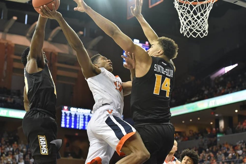 <p>De'Andre Hunter currently leads the Cavaliers in scoring with 14.7 points per game.</p>