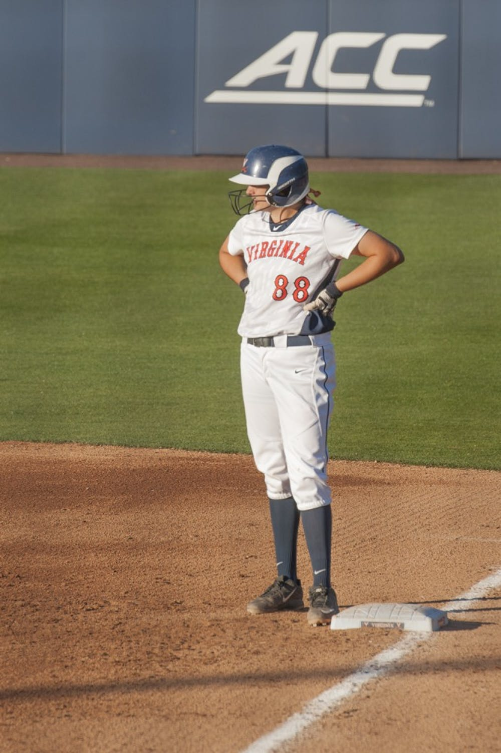 <p>Sophomore&nbsp;Olivia Gott currently has the fourth-best batting average in the ACC.</p>