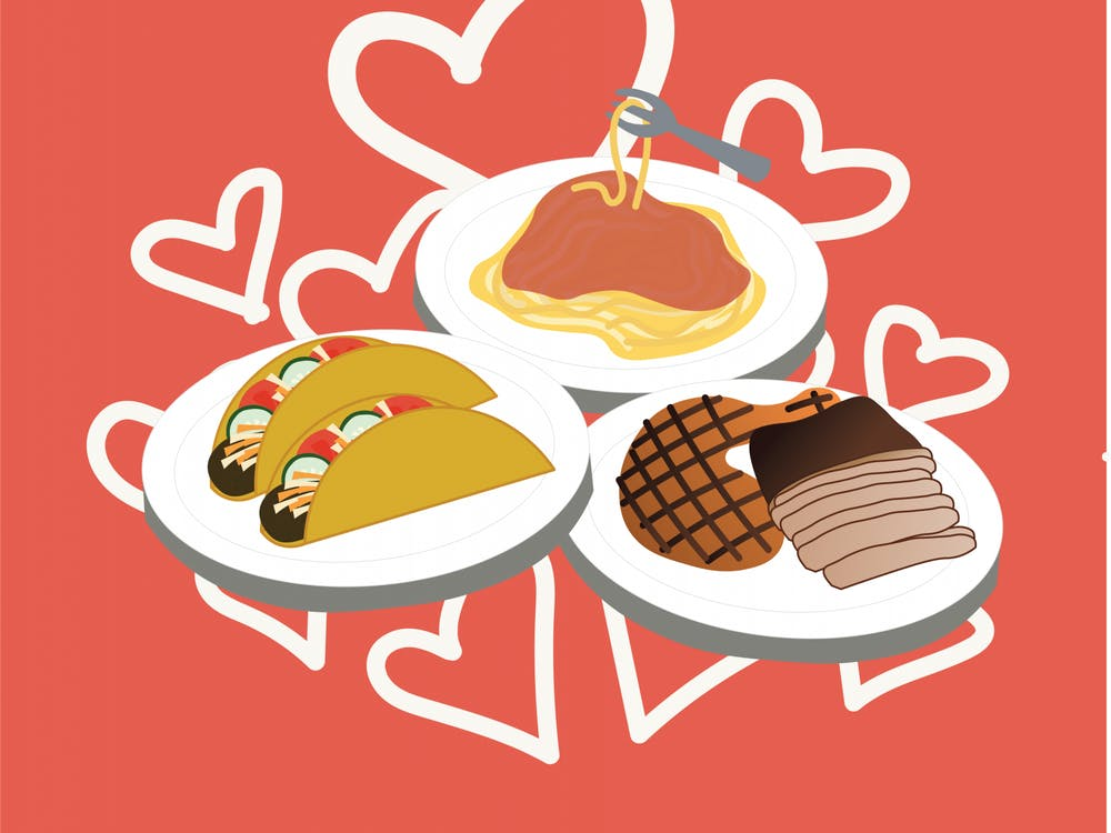 Most couples are not planning to go to an obscure Mexican restaurant or family-owned diner on Valentine's Day, so you may have the whole place to yourselves.