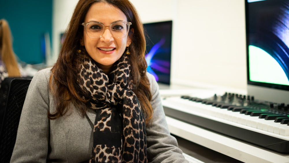 Using a technique known as 360 degree filmmaking, Professor Mona Kasra works to explore the possibilities of immersive media.
