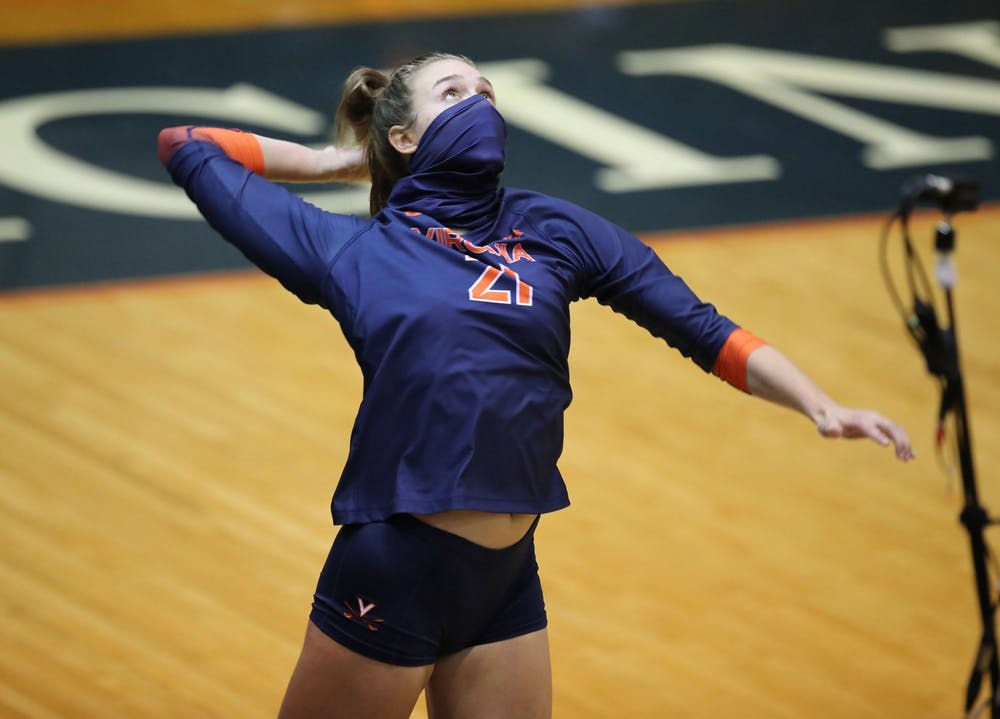 <p>Senior outside hitter Sarah Billiard reached the milestone of 1000 career kills in the third match on Sunday against Miami.</p>