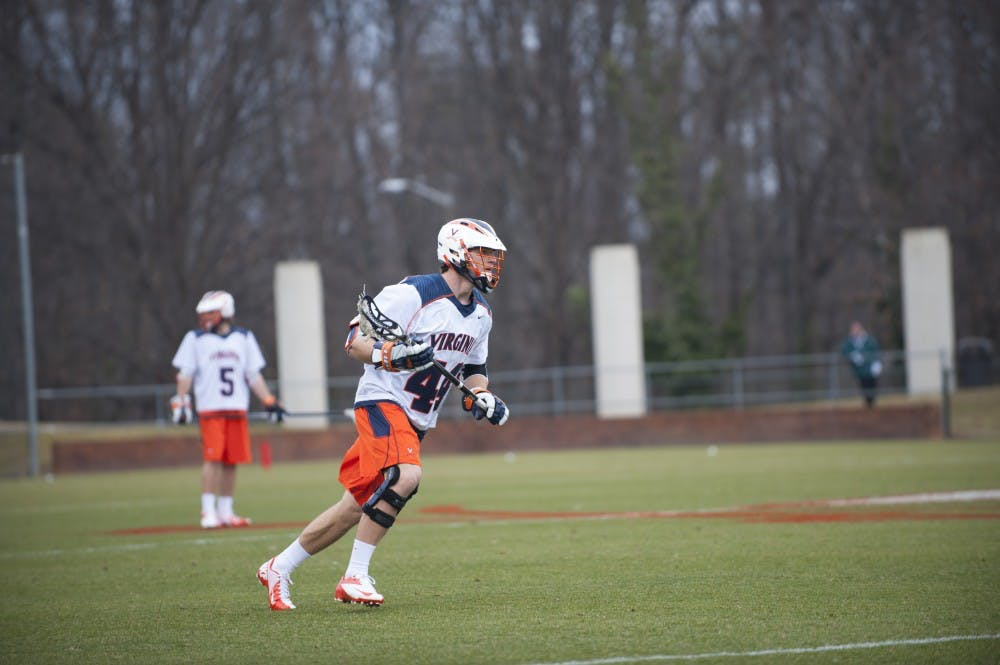 <p>Senior captain Chris LaPierre will miss the remainder of the season for the Cavaliers. The midfielder had 4 goals and 2 assists in the 2012 season.</p>