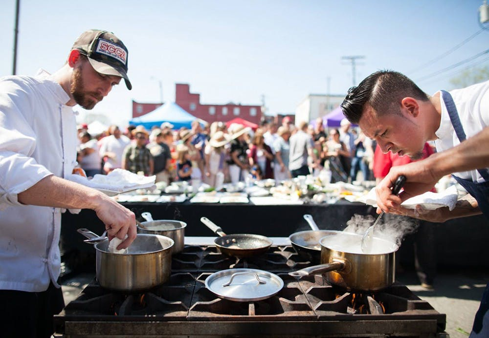 <p>This year, food has become a more integral part of the Tom Tom Founders Festival.</p>