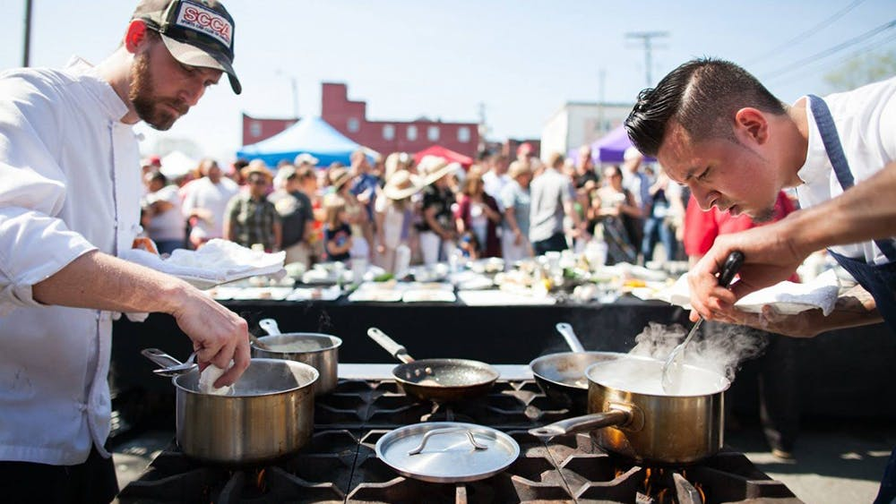 This year, food has become a more integral part of the Tom Tom Founders Festival.