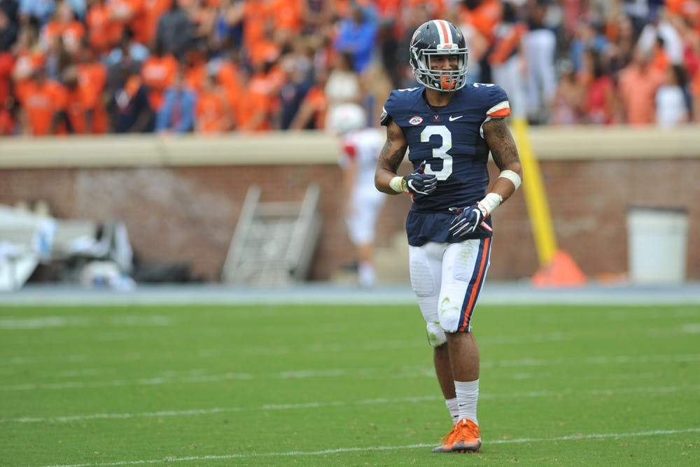 <p>Senior safety Quin Blanding will look to&nbsp;be a bright spot on what the Cavaliers believe is a much improved secondary this coming season.</p>