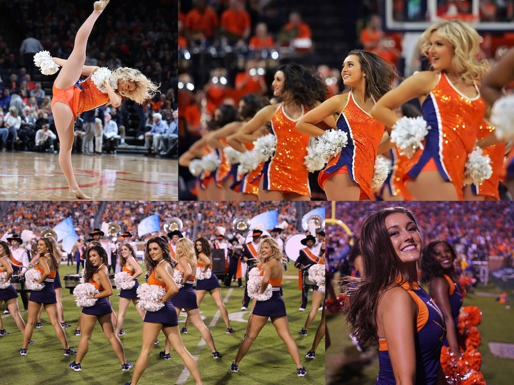 Dancing with the Virginia Dance Team allows members to express their enthusiasm for something they're passionate about — the University.