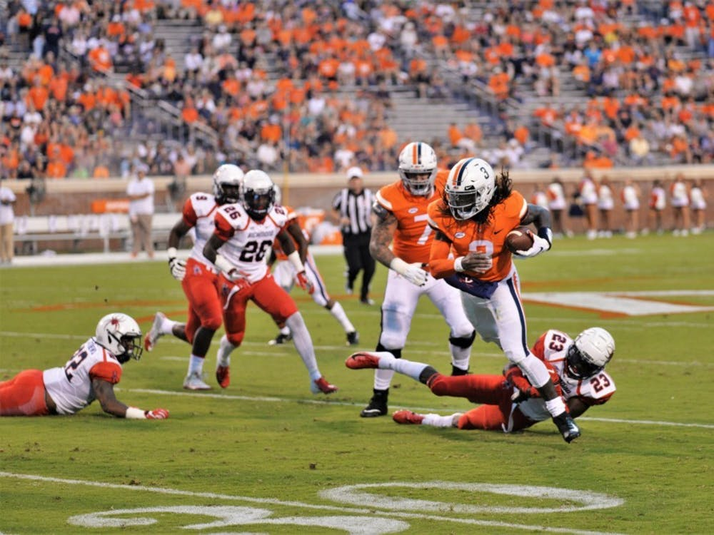Junior quarterback Bryce Perkins has shown he can change the game for Virginia, but the rest of his offense needs to find consistency.