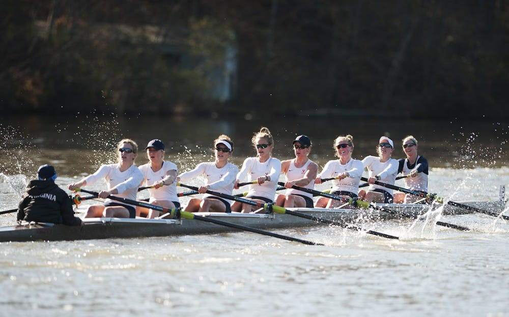 <p>The women's rowing team started the season with 14 wins at the Oak Ridge Invitational.</p>