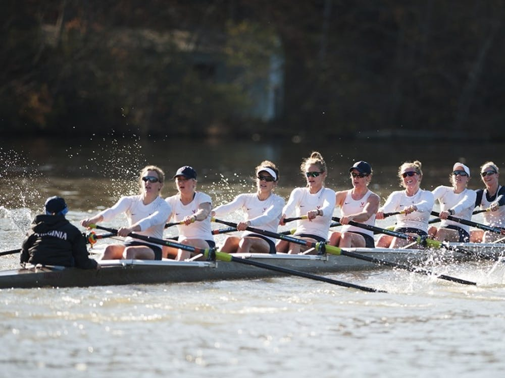 The women's rowing team started the season with 14 wins at the Oak Ridge Invitational.