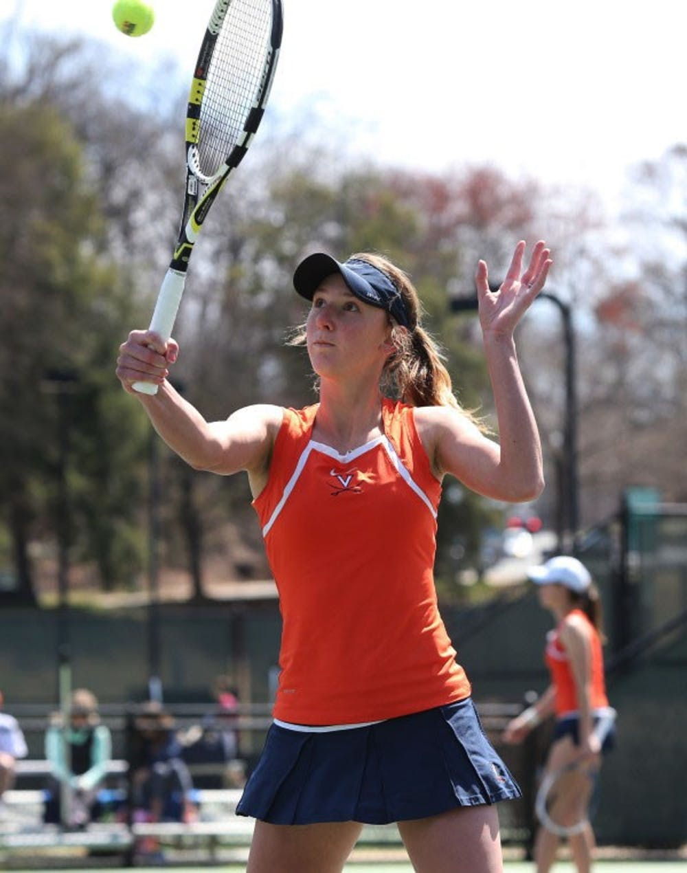 <p>Stephanie Nauta is the 50th ranked singles player in the nation.</p>