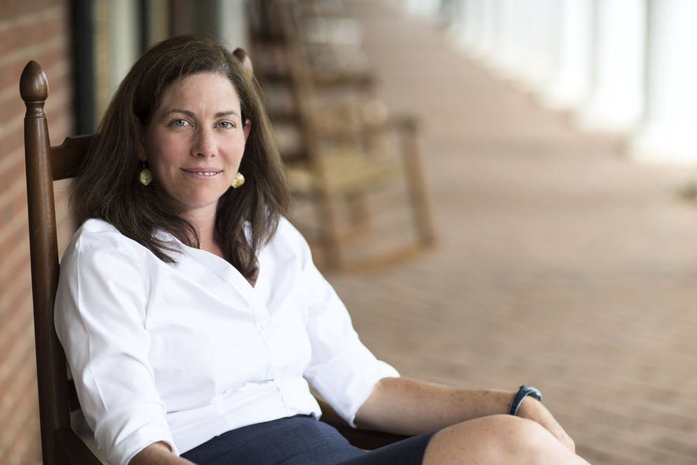 <p>A Charlottesville native, Caruccio grew up around Grounds, following around her father, a University professor in the history department, for nearly 30 years before enrolling in the University herself.</p>