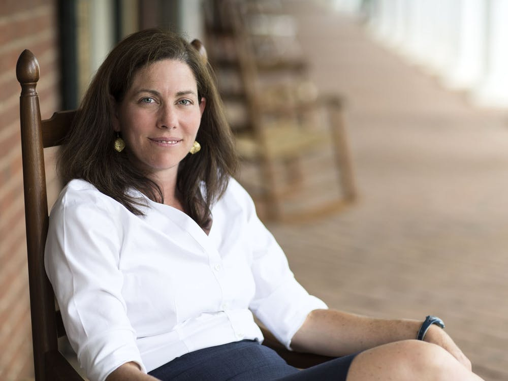 A Charlottesville native, Caruccio grew up around Grounds, following around her father, a University professor in the history department, for nearly 30 years before enrolling in the University herself.