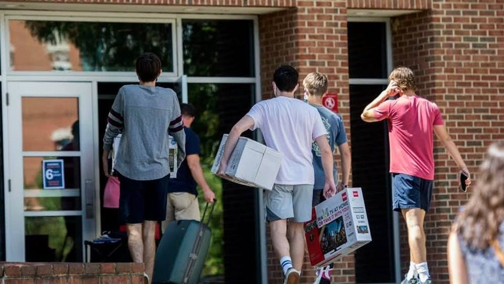 The University's senior leadership team announced Aug. 28 that it would press forward with plans to welcome back on-Grounds residents and resume in-person instruction.