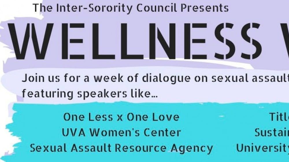 ISC's Wellness Week will include panels and discussions about sexual assault and healthy relationships.