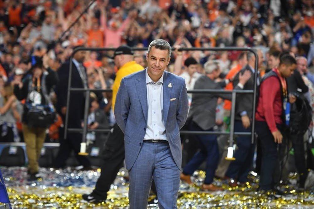 <p>Coach Tony Bennett has brought a defensive mindset to Virginia basketball that transcends who is on the roster.</p>
