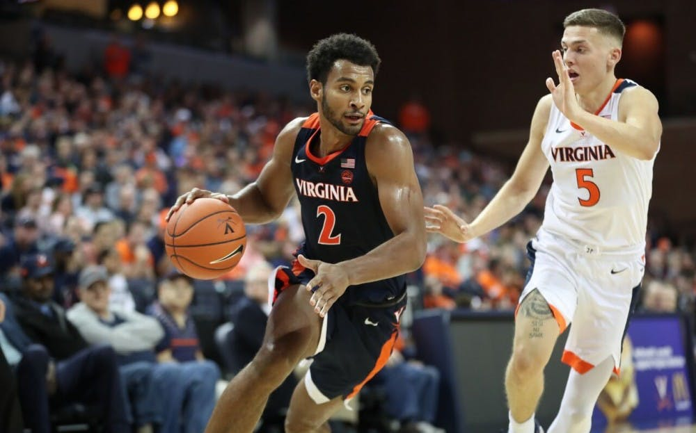 <p>Virginia fans got their first look at Braxton Key during the Oct. 13 Blue-White Scrimmage.</p>