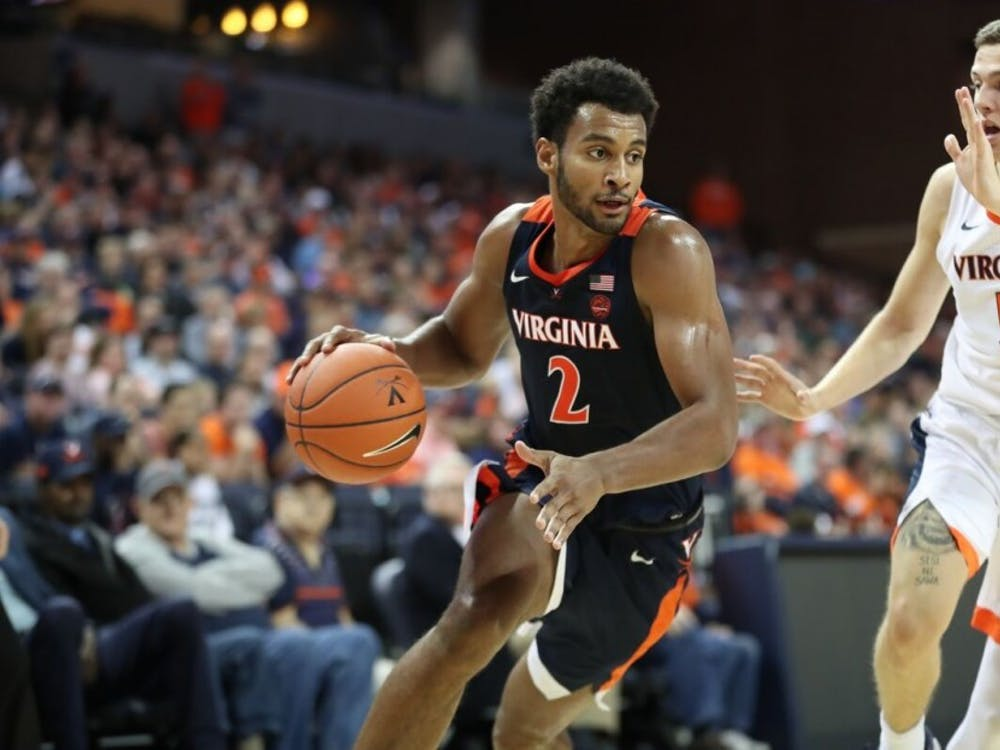 Virginia fans got their first look at Braxton Key during the Oct. 13 Blue-White Scrimmage.