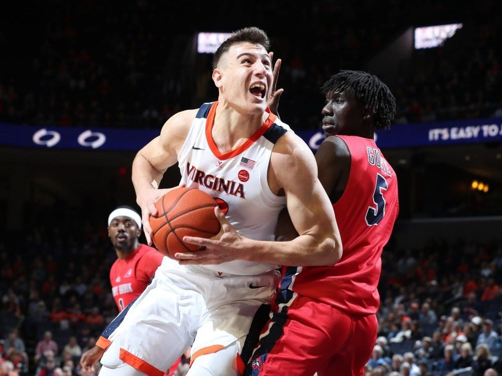 Redshirt freshman center Francisco Caffaro started for the first time in his career Wednesday