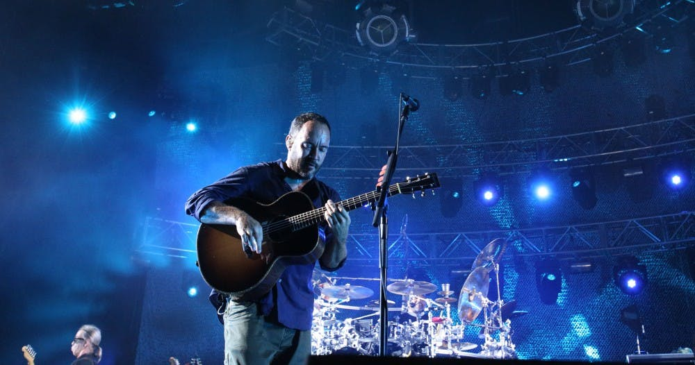<p>Dave Matthews introduced several guests before performing alongside his band for an extended set.</p>