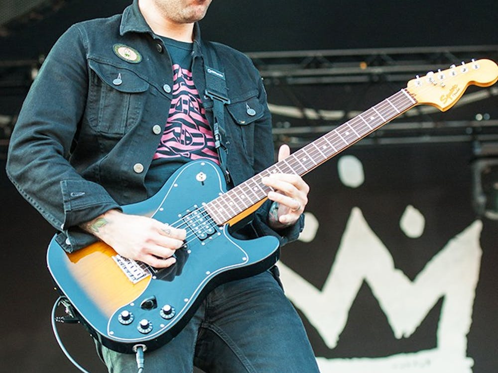 Lead guitarist Joe Trohman will rock the stage next week with band Fall Out Boy.