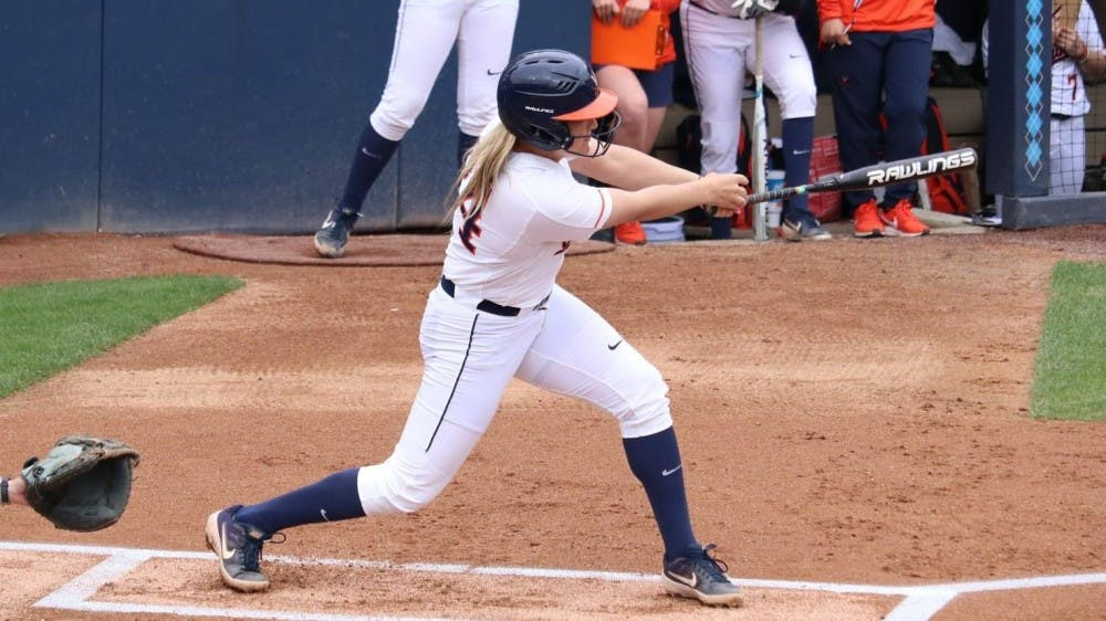 <p>Senior pitcher Lacy Smith and the Cavaliers couldn't keep up with North Carolina offensively this weekend.&nbsp;</p>
