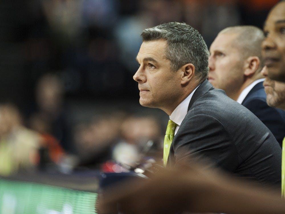 Virginia Coach Tony Bennett has his toughest task yet this season against No. 4 Duke.
