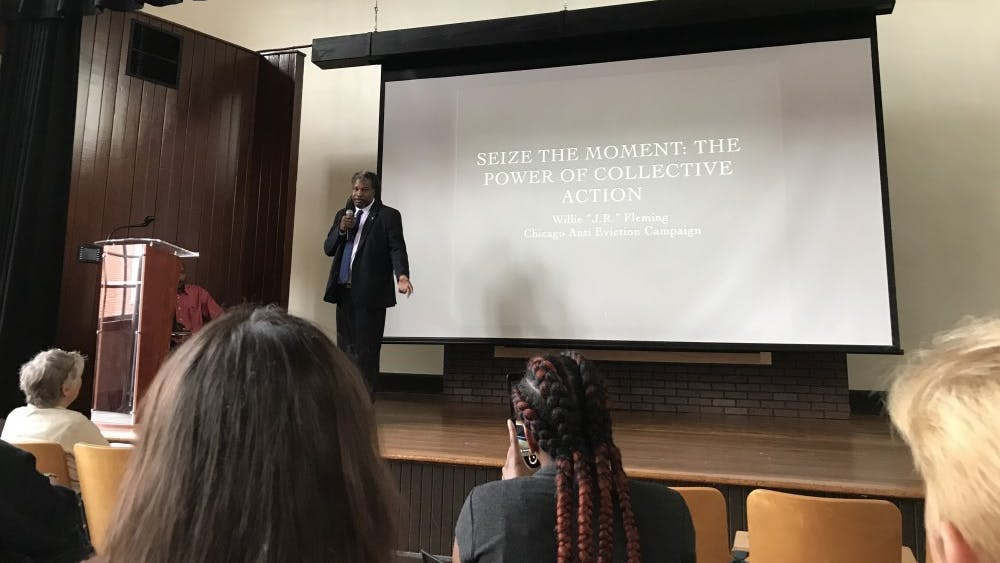 The Charlottesville Low Income Housing Coalition and the Legal Aid Justice Center held an event Thursday night to discuss displacement and affordable housing in Charlottesville.