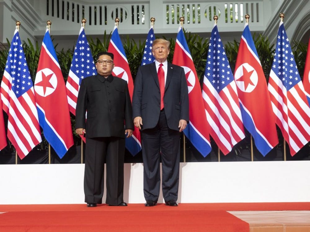 """After meeting with North Korean leader Kim Jong Un last week, Trump felt the need to elaborate on his alleged remorse for Otto's death, contending that Kim """"felt badly about it."""""""
