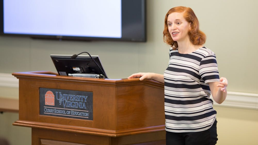 Rachel Wahl — an Assistant Professor in the Curry School — delivered a public lecture Tuesday in Bavaro Hall on utilizing public forums to improve the relationship between law enforcement personnel and community members.