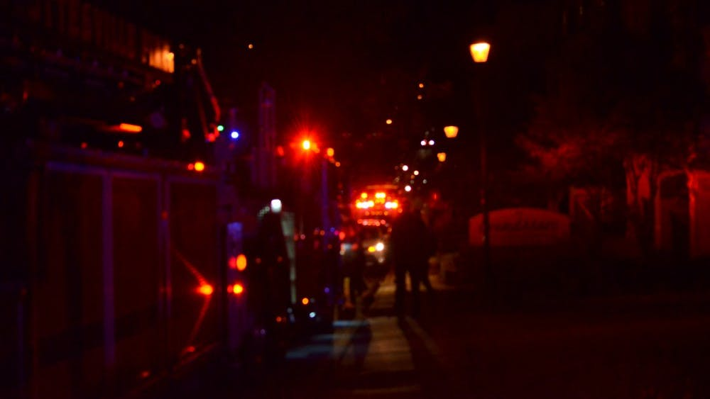 At least one individual was wounded near 15th Street NW Saturday night.