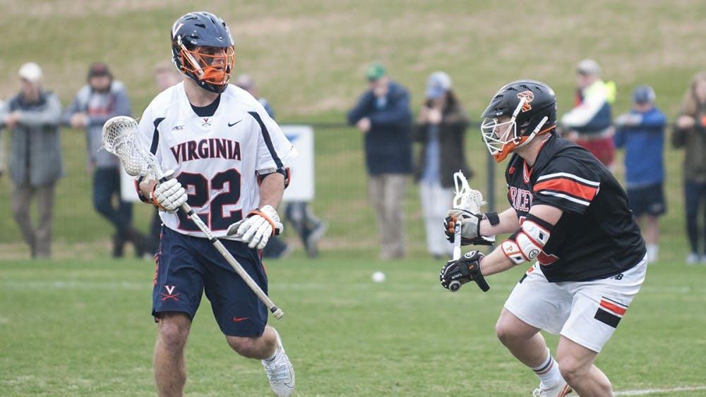 Junior midfielder Ryan Conrad had ten ground balls and scored a crucial goal in Virginia's win over Princeton.