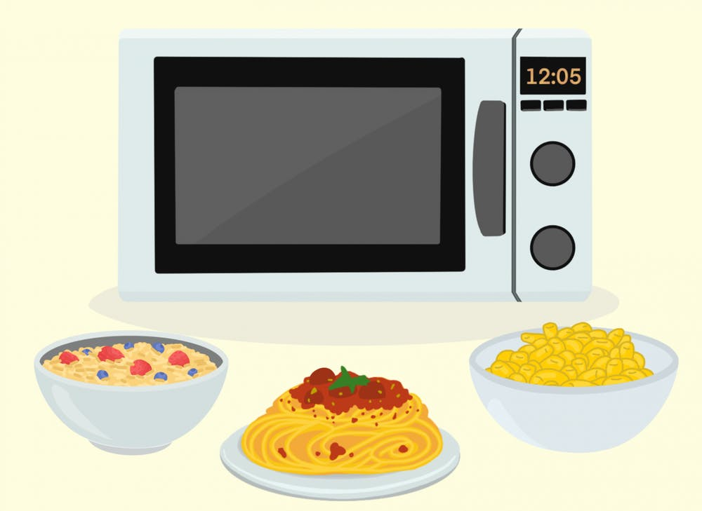 <p>Who would have thought that your microwave was capable of serving you all of the perfect meals you have ever craved to help fuel your studies?</p>
