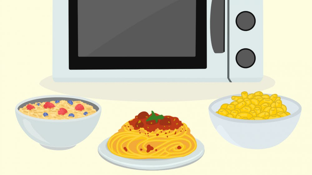 Who would have thought that your microwave was capable of serving you all of the perfect meals you have ever craved to help fuel your studies?